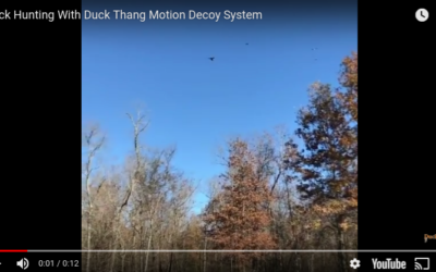 Duck Hunting with the Duck Thang Motion Decoy System