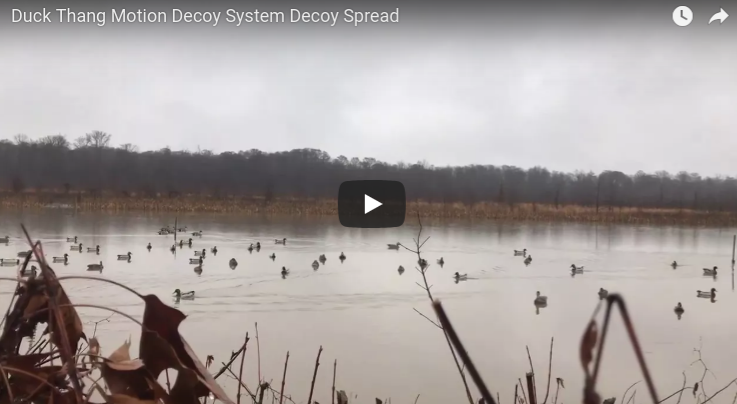 Duck Thang Motion Decoy System Decoy Spread
