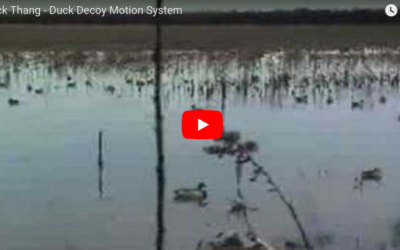 Duck Thang Motion Decoy System in Action