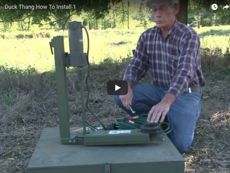 How to Set Up the Duck Thang Motion Decoy System